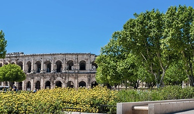 nîmes, the booming neo-gallo-roman
