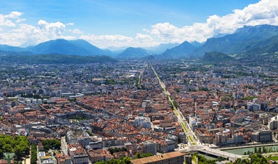 grenoble, pioneer and exemplary in eco-neighbourhood in france